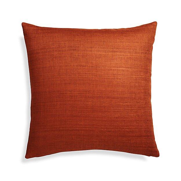 Michaela Cayenne Pillow Cover