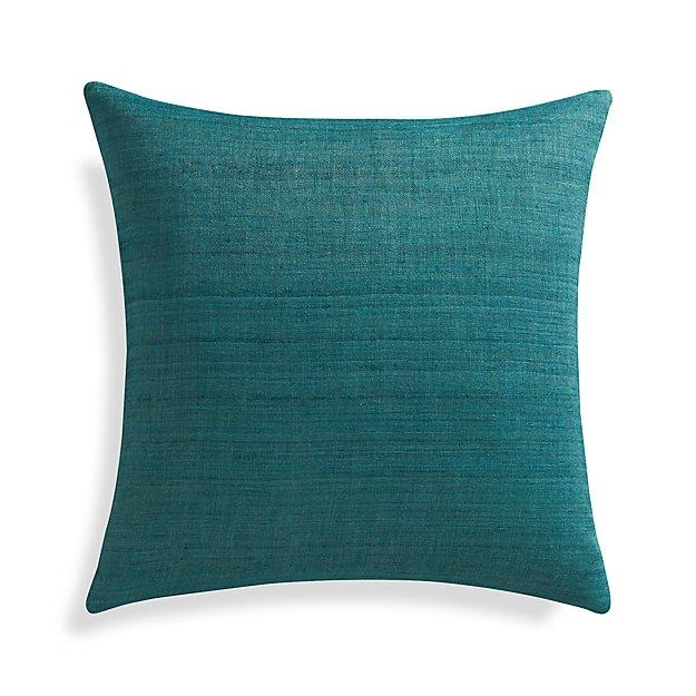 "Michaela Azure 20"" Pillow Cover"