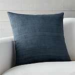 Michaela Dusk Blue 20  Pillow with Feather-Down Insert