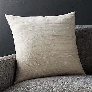 "Michaela Sesame 20"" Pillow with Down-Alternative Insert"