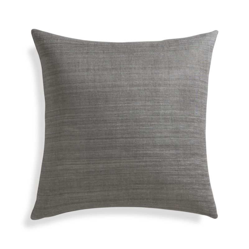 Crate And Barrel Decorative Pillow Covers : Michaela Smoke 20