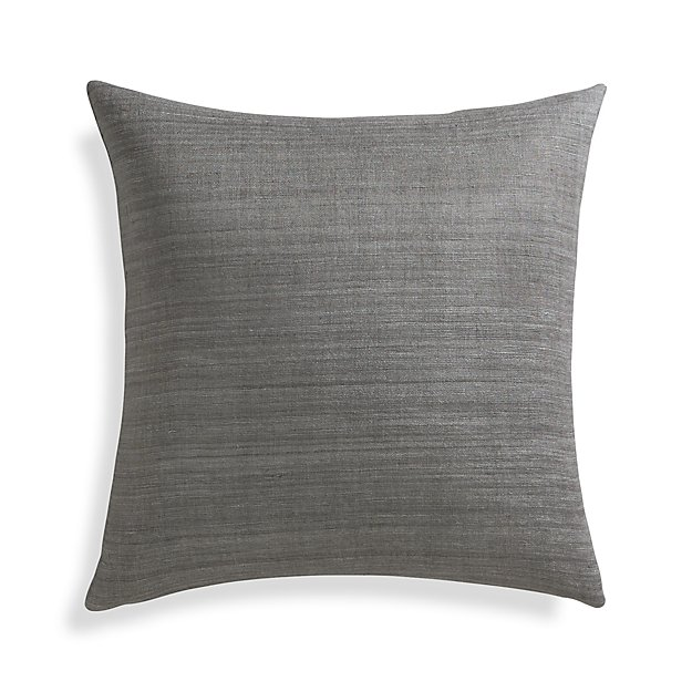 "Michaela Smoke 20"" Pillow Cover"