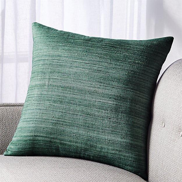 "Michaela Teal Pillow 20"" - Image 1 of 4"