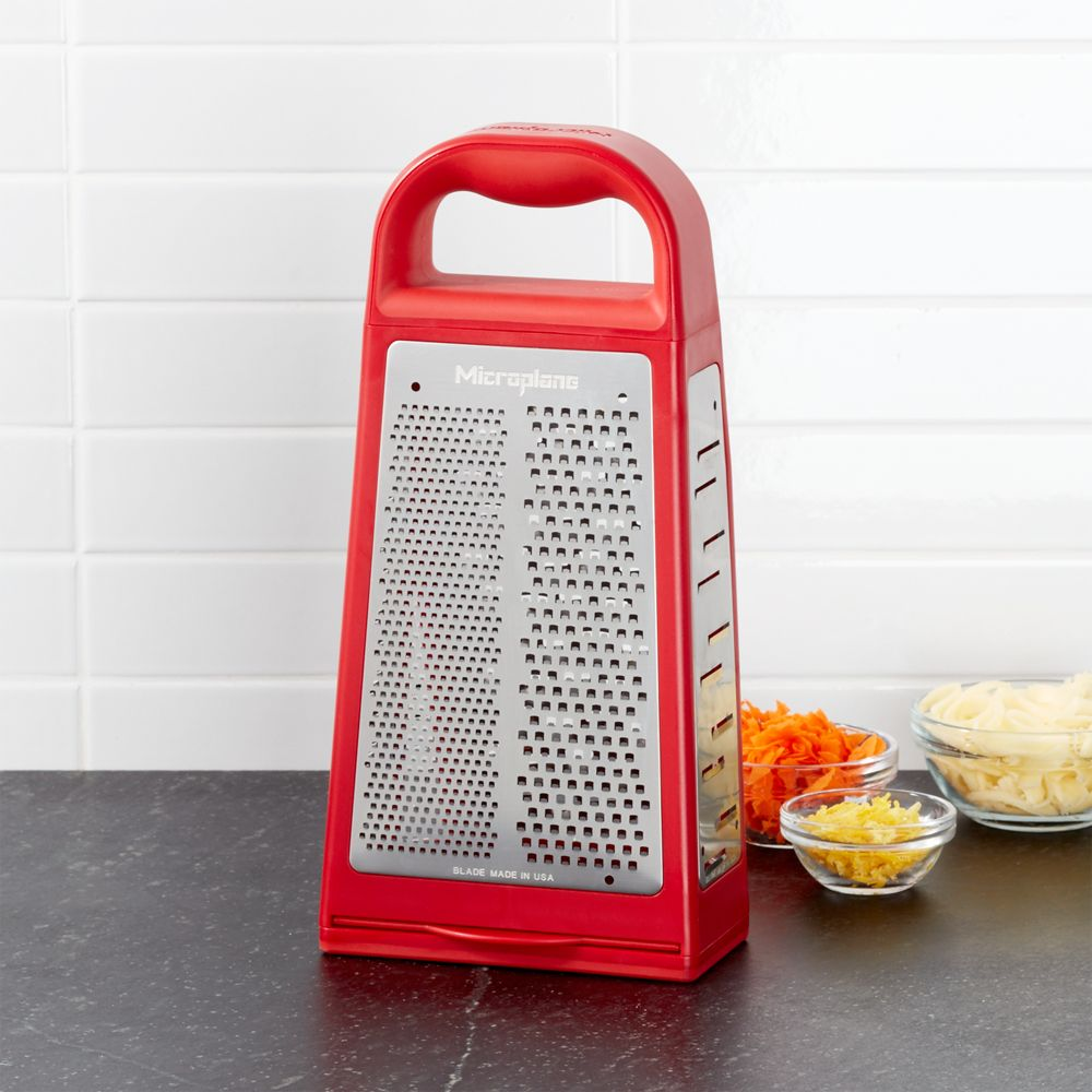 Microplane 5-Blade Box Grater - Crate and Barrel