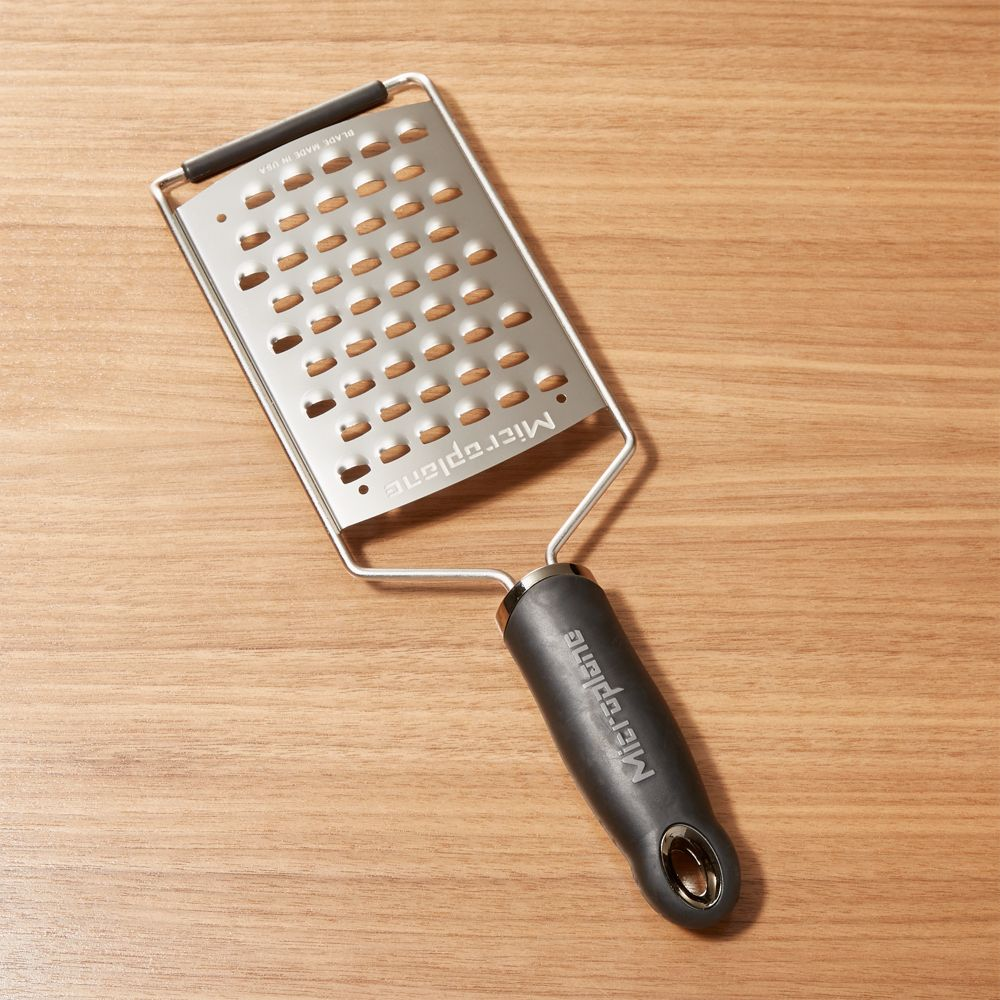 Microplane ® Coarse Paddle Grater - Crate and Barrel