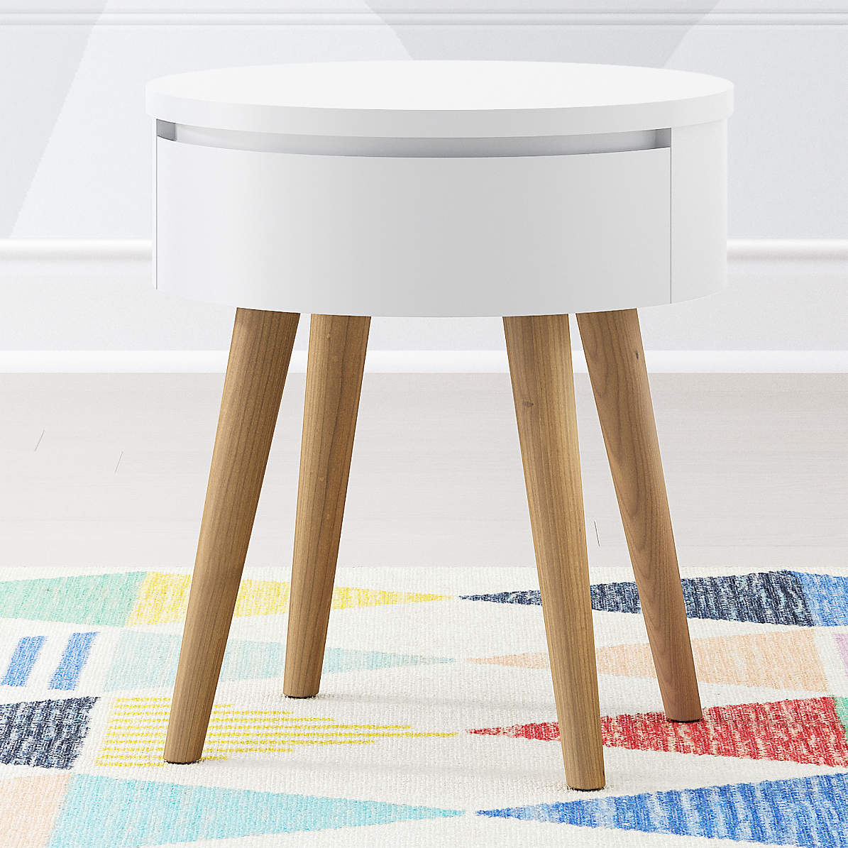 Kids Mid Century Nightstand Reviews Crate And Barrel