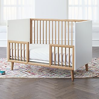 Mid Century Spindle Toddler Rail