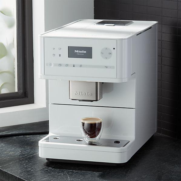 coffee shop kitchen decor.htm miele cm6150 white countertop coffee machine crate and barrel  cm6150 white countertop coffee machine
