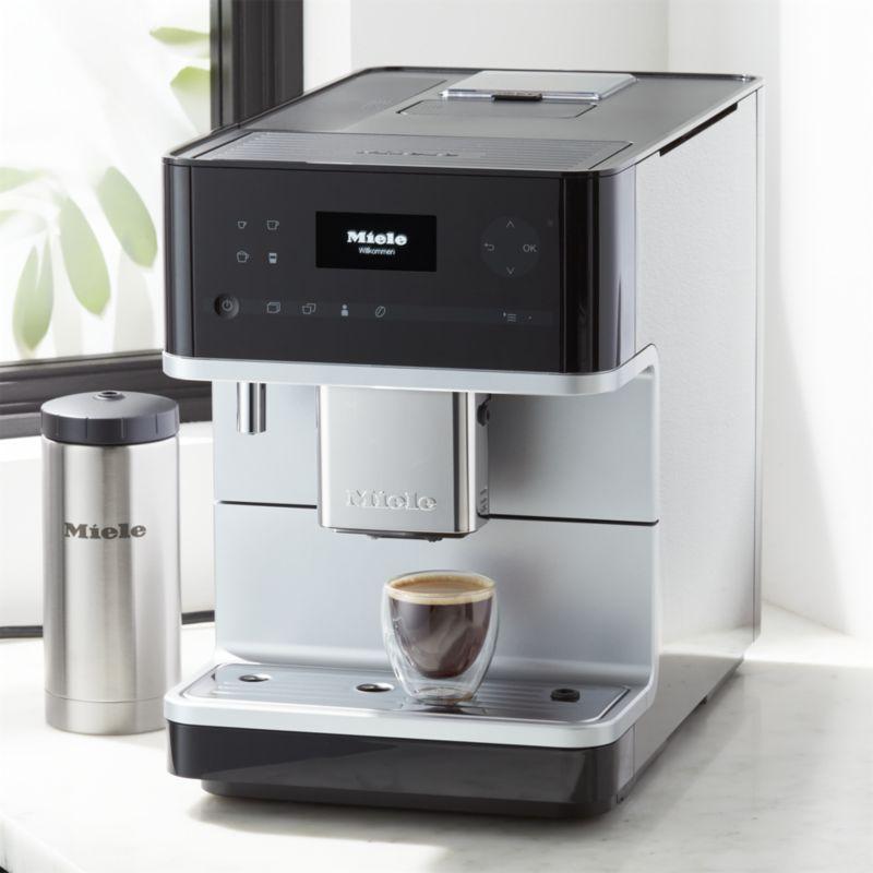 coffee shop kitchen decor.htm miele cm6350 black countertop coffee machine crate and barrel  cm6350 black countertop coffee machine