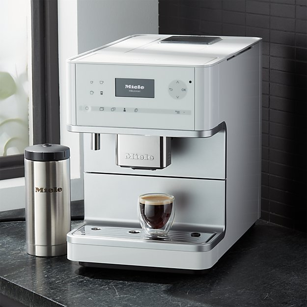 7d60016332 Miele CM6350 White Countertop Coffee Machine + Reviews | Crate ...