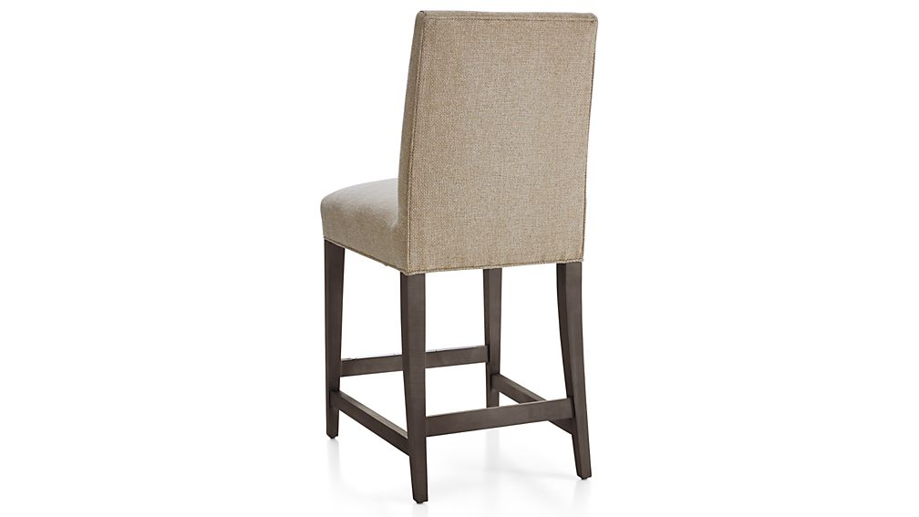 Miles Upholstered Counter Stool Tobias Fennel Crate And