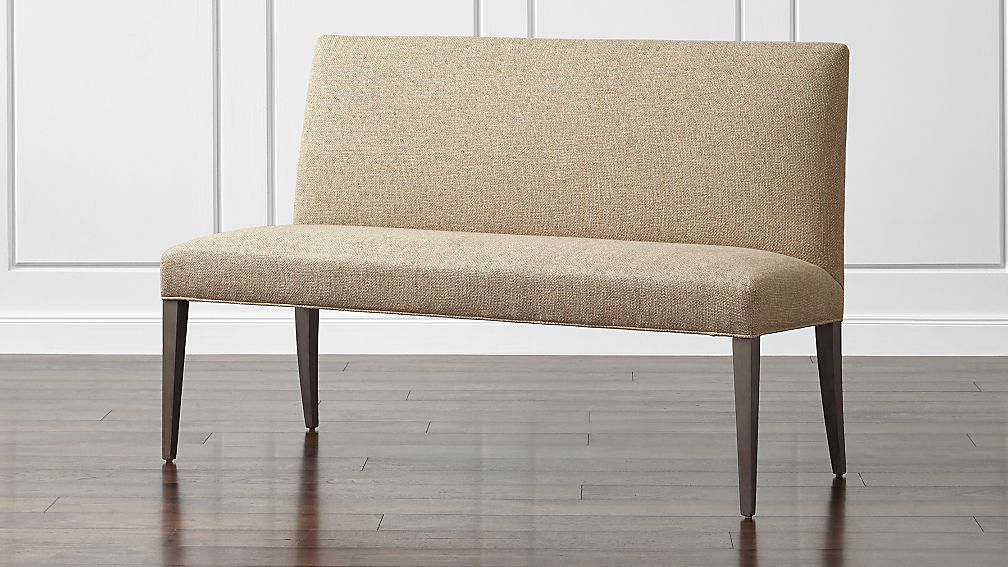 Miles 58 Medium Upholstered Dining Banquette Bench Crate And Barrel