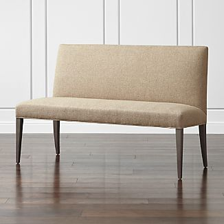 "Miles 58"" Medium Upholstered Dining Banquette Bench"