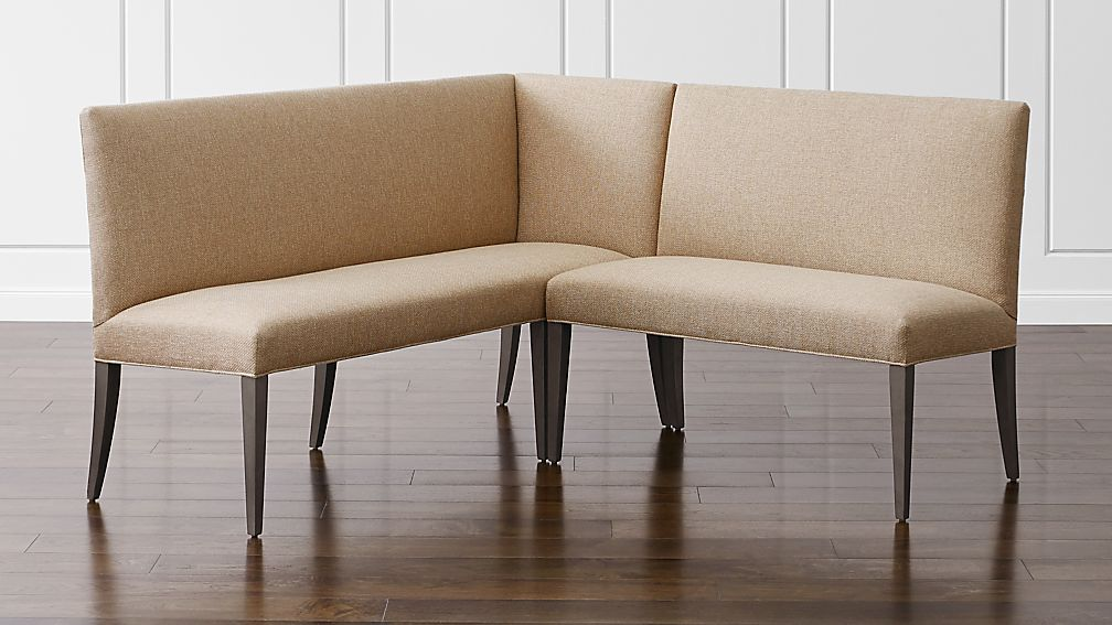 Miles Small Right Facing Corner Banquette - Image 1 of 3