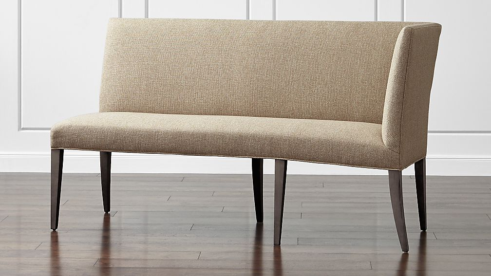 Miles Right Facing Return Banquette Bench ...