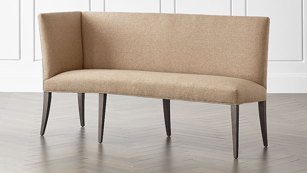 Miles Left Facing Return Banquette Bench