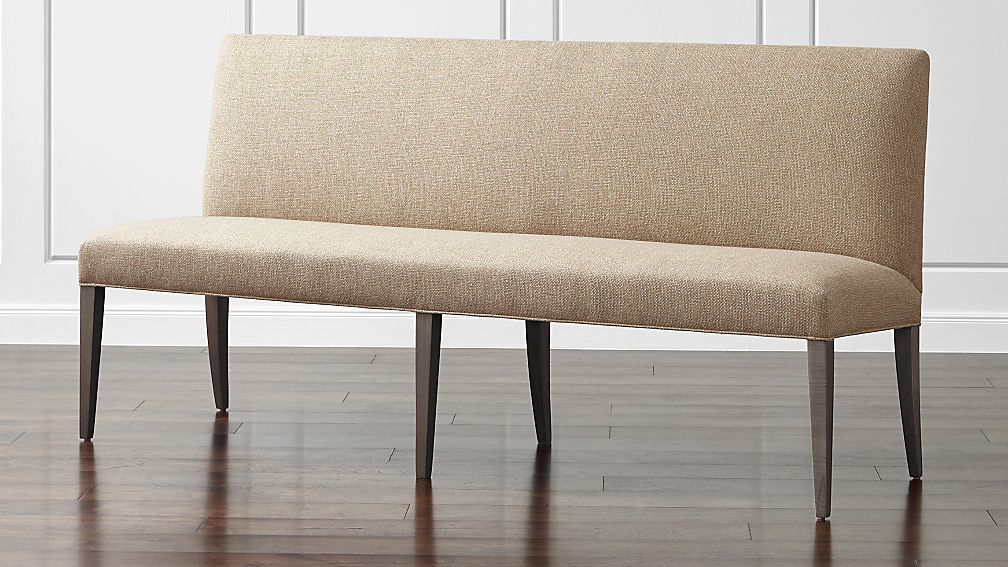 Miles 76 Upholstered Grand Dining Banquette Bench Crate and Barrel