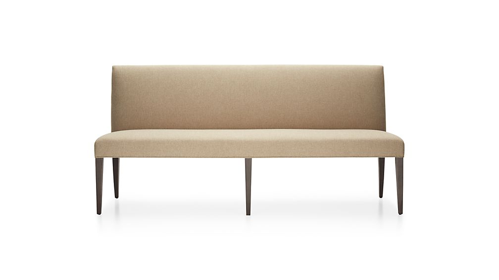 "Miles 76"" Upholstered Grand Dining Banquette Bench"