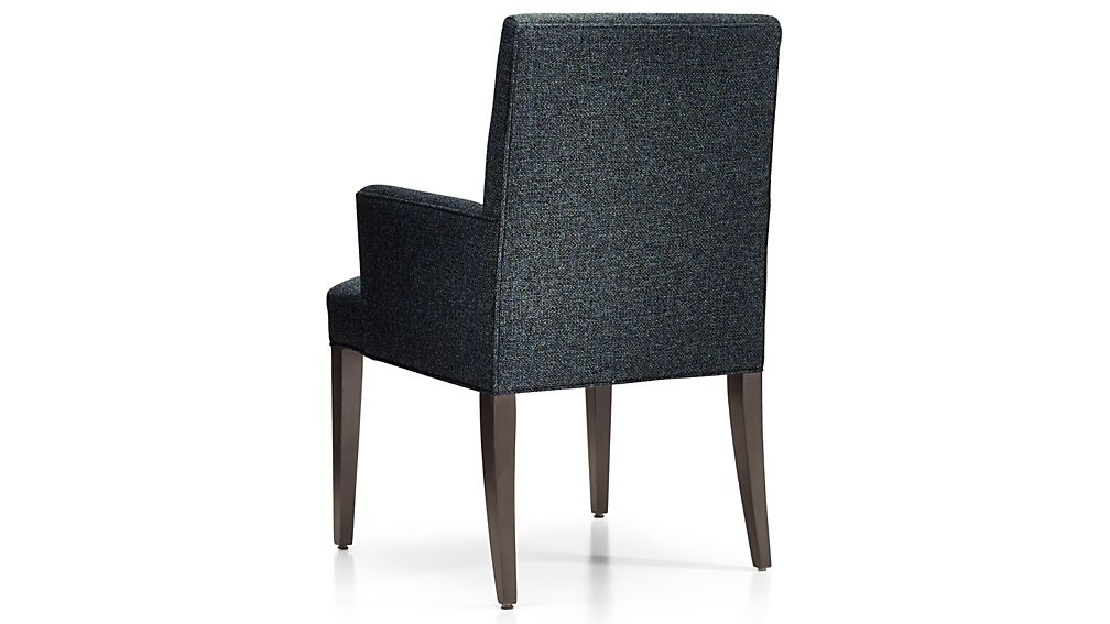 Miles Upholstered Dining Arm Chair Crate And Barrel