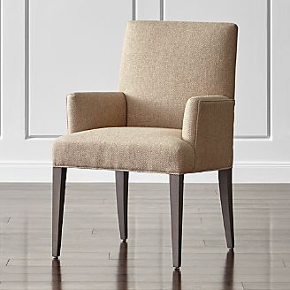 Superieur Miles Upholstered Dining Arm Chair