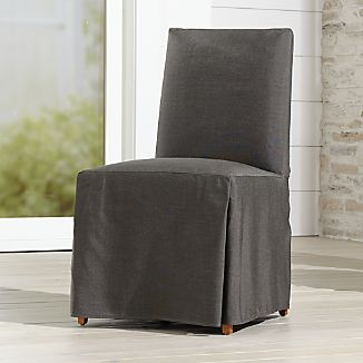 Ordinaire Slipcover Only For Miles Outdoor Upholstered Dining Chair