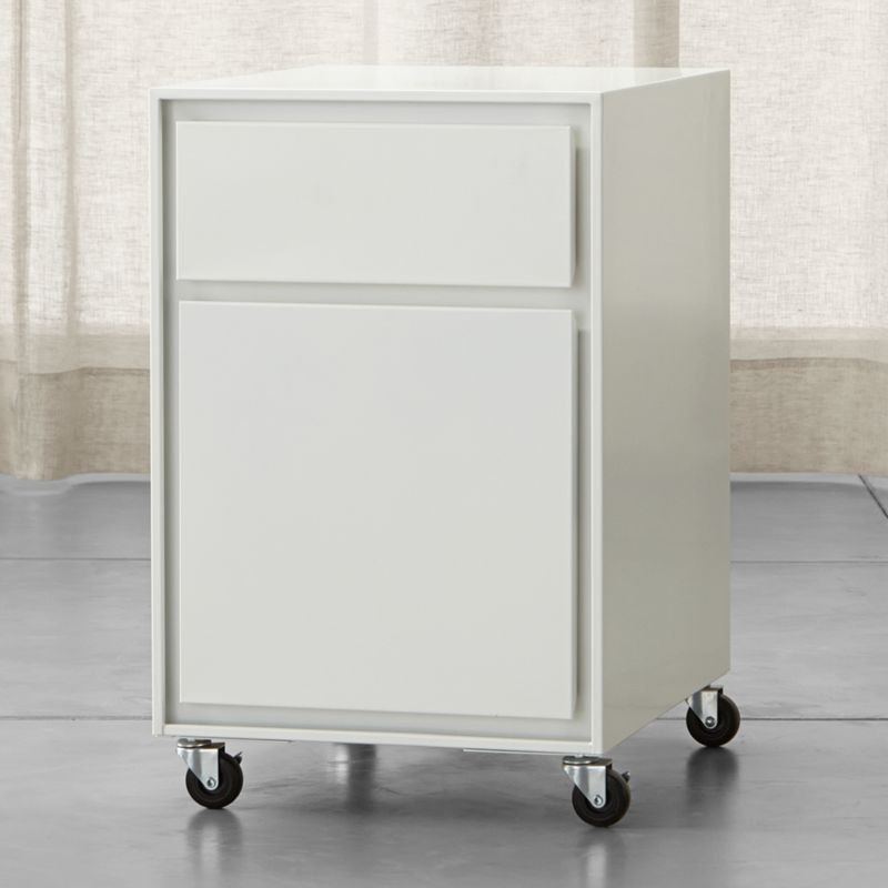 Pilsen Salt Two Drawer File Cabinet