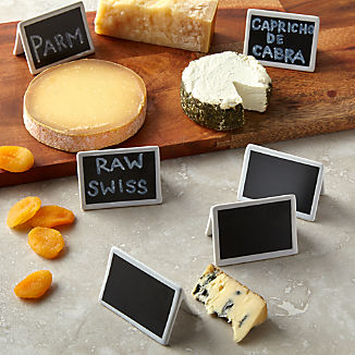 Mini Chalkboard Stands, Set of 6