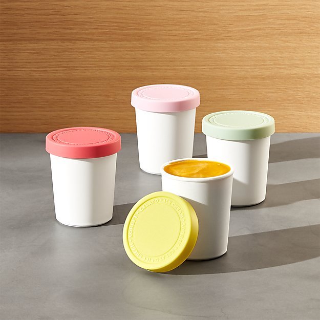 Mini Ice Cream Tubs Set of Four