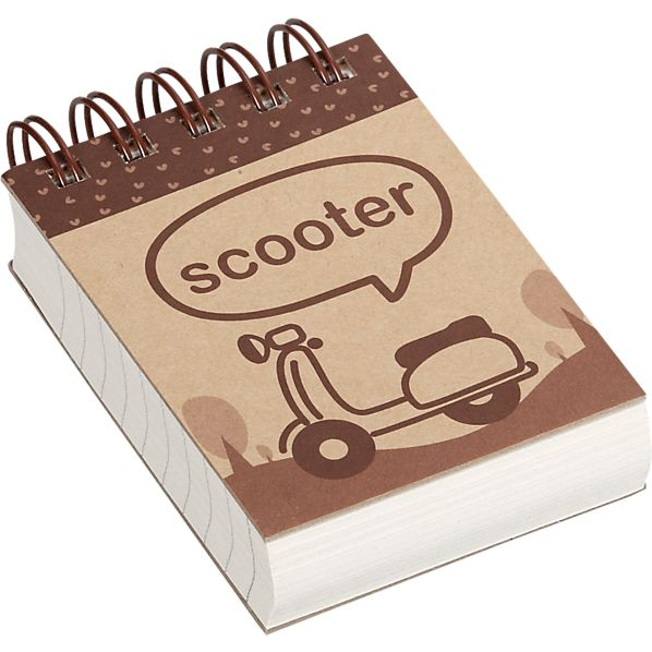 Scooter Mini Notebook