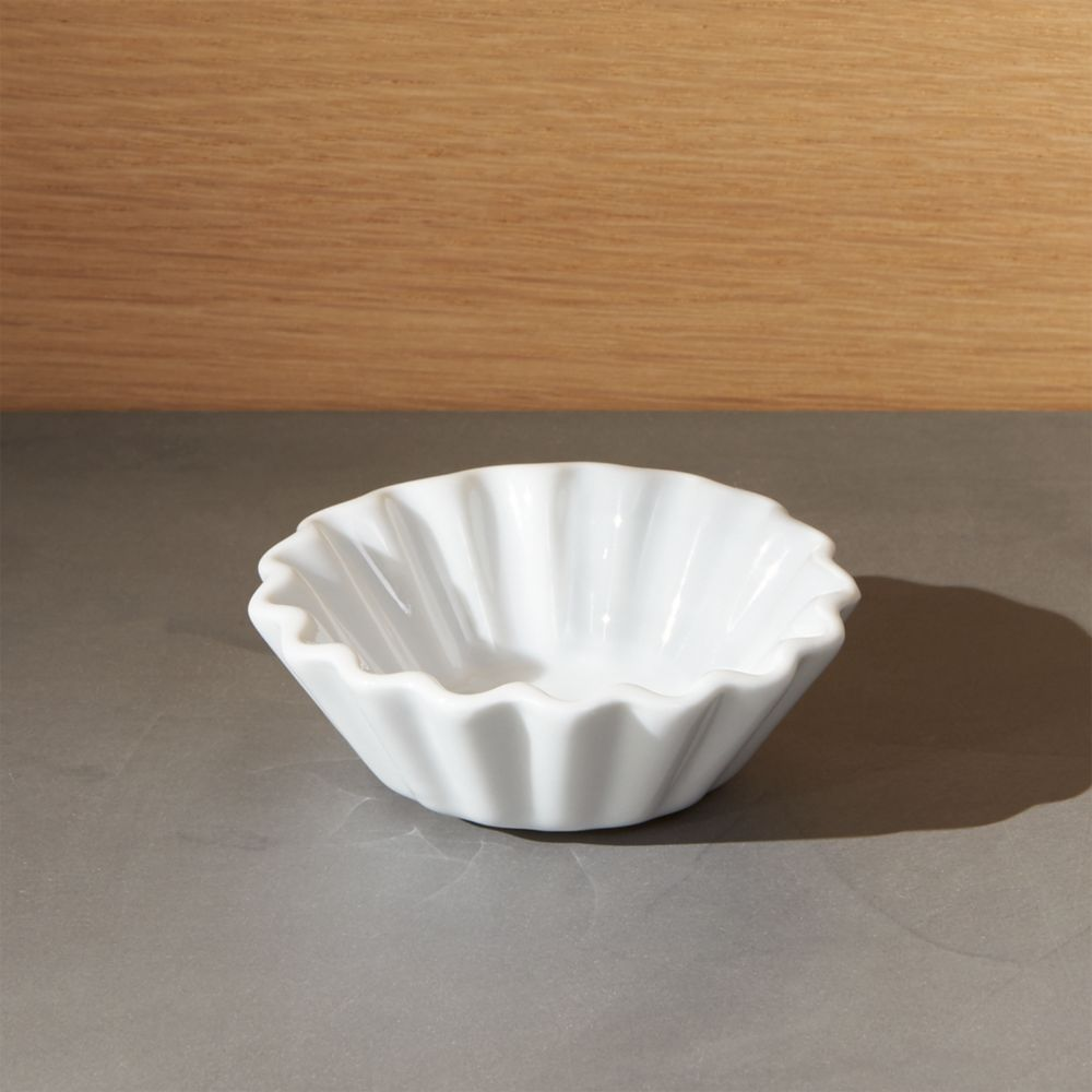 Mini Porcelain Tartlet - Crate and Barrel