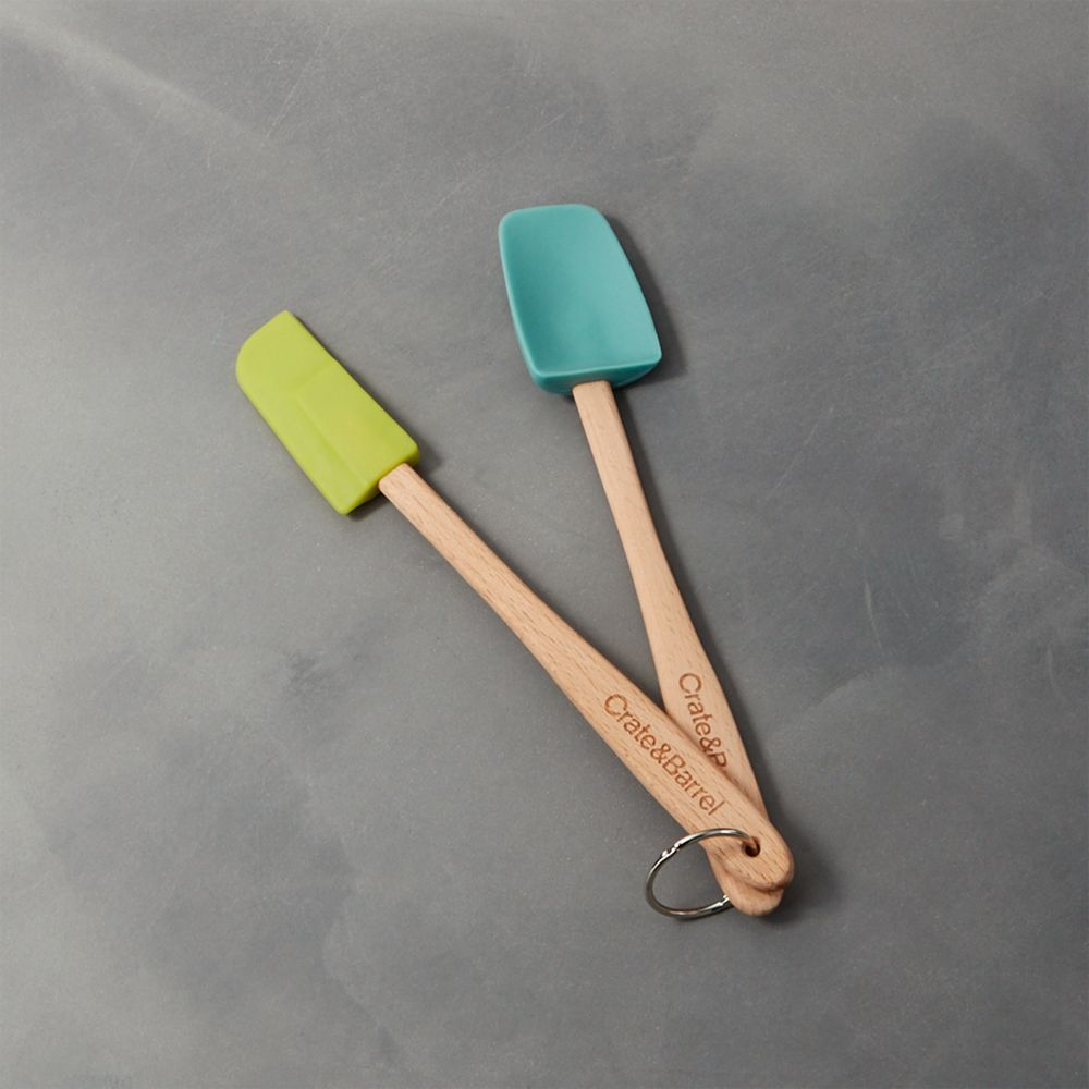 Set of Two Cool Mini Spatulas - Crate and Barrel