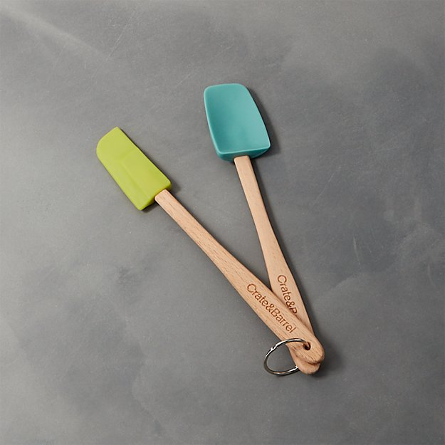 Set of Two Cool Mini Spatulas