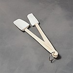 2-Piece Mini Silicone Spatula-Spoon Set