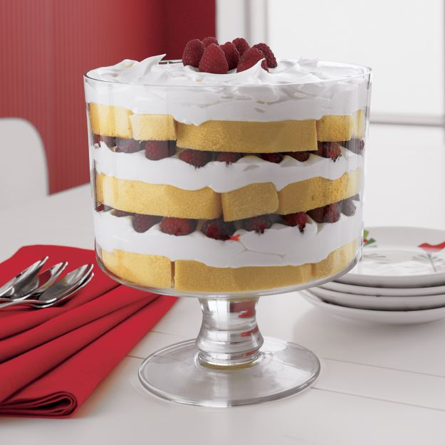 "Trifle Bowl Decorations Enchanting Miranda 775"" Trifle Bowl  Crate And Barrel Inspiration Design"