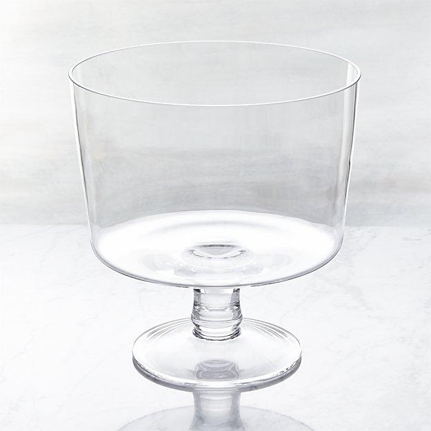 "Trifle Bowl Decorations Stunning Miranda 775"" Trifle Bowl  Crate And Barrel Decorating Design"