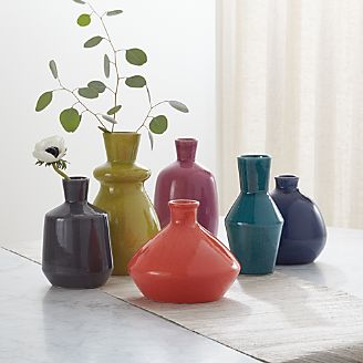 Decorative Vases: Gl and Ceramic | Crate and Barrel on decorative vases and urns, submersible lights for vases, sand for vases, pearl beads for vases, trees for vases, gel beads for vases, glass rocks for vases, black rocks for vases, lighting for vases, antique chinese vases, ancient egyptian vases, led lights for vases, lighted branches for vases, pebbles for vases, floral lights for vases, decorating ideas for vases, underwater lights for vases, water beads for vases, extra large floor vases, pink marbles for vases,