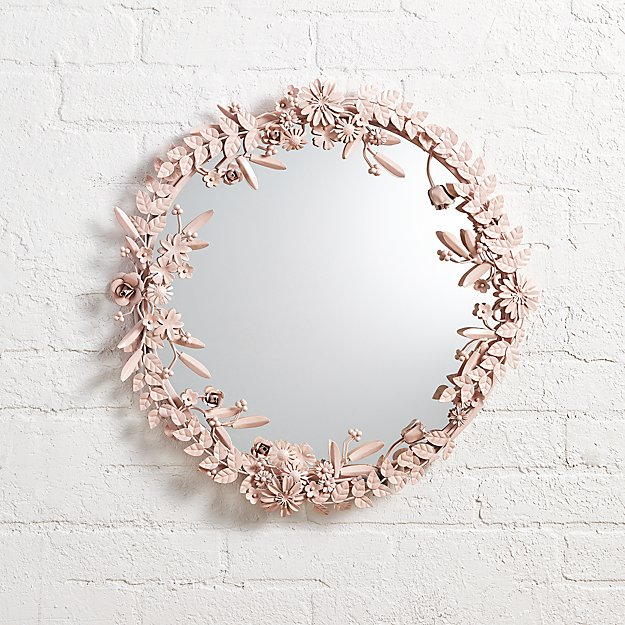 Flower Crown Wall Mirror - Image 1 of 1