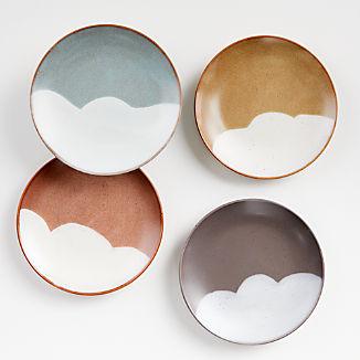 Misako Salad Plates, Set of 4