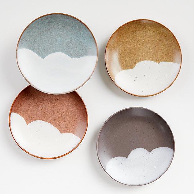 Misako Salad Plates, Set of 4 - Image 1 of 5