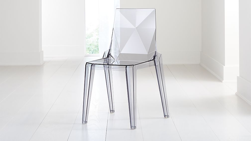 Mist Acrylic Dining Chair - Image 1 of 8