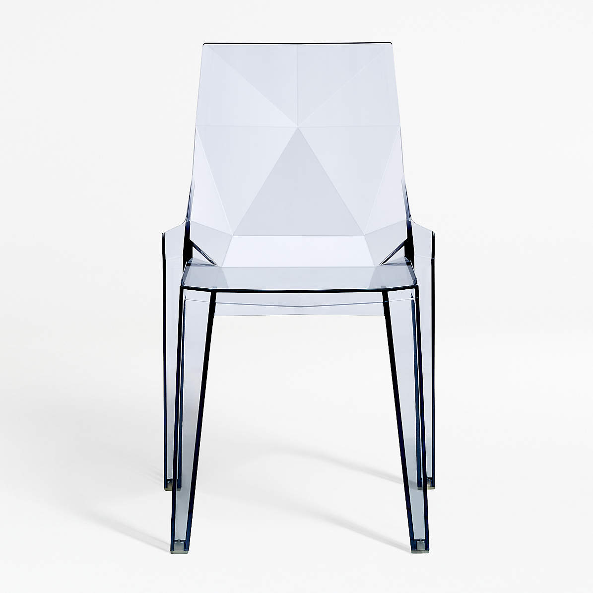 Image of: Mist Acrylic Dining Chair Reviews Crate And Barrel