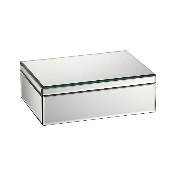 Mitzie Mirrored Jewelry Box