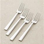 Set of 4 Mix Dinner Forks
