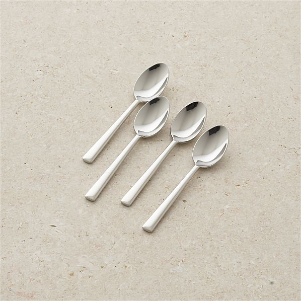 Set of 4 Mix Espresso Spoons