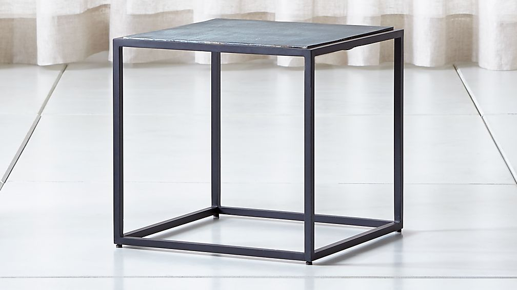 Mix Patina Low Side Table - Image 1 of 7