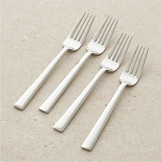 Set of 4 Mix Salad Forks