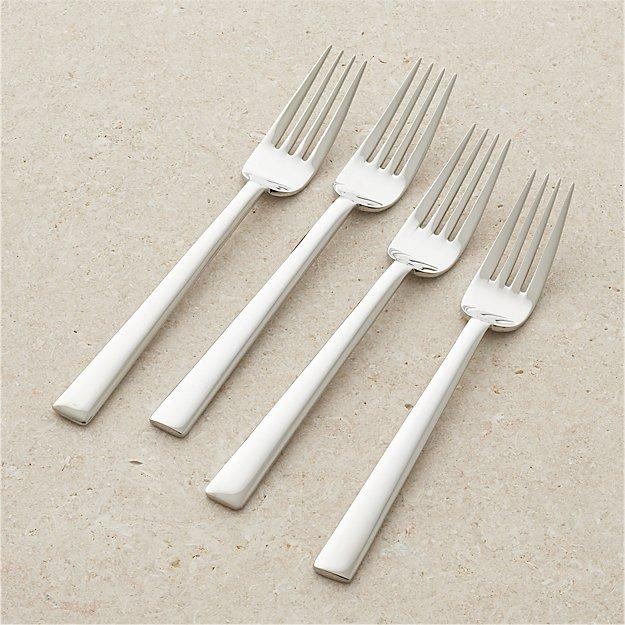 Set of 4 Mix Salad Forks - Image 1 of 5