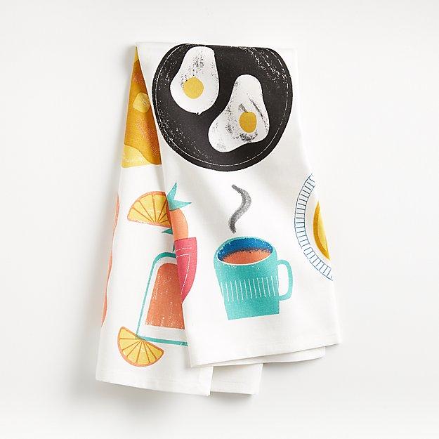 Mixed Breakfast Dish Towel - Image 1 of 4