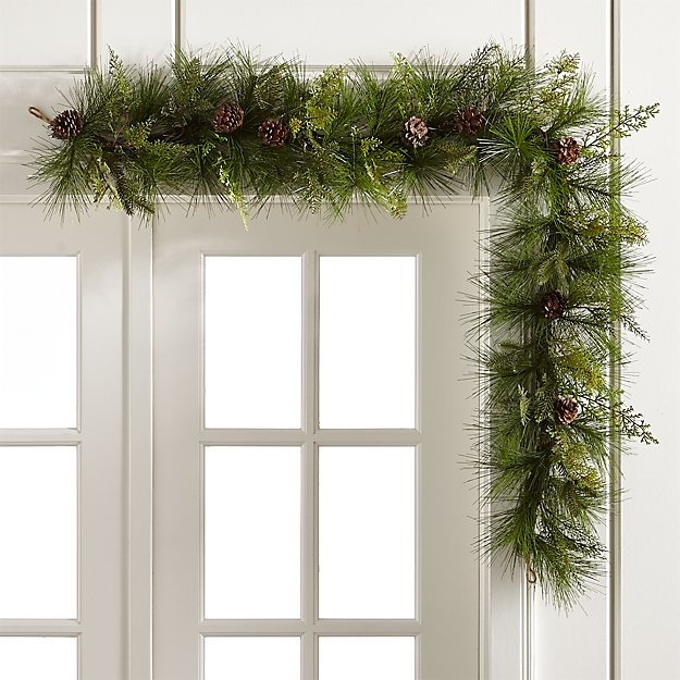 crate & barrel garland