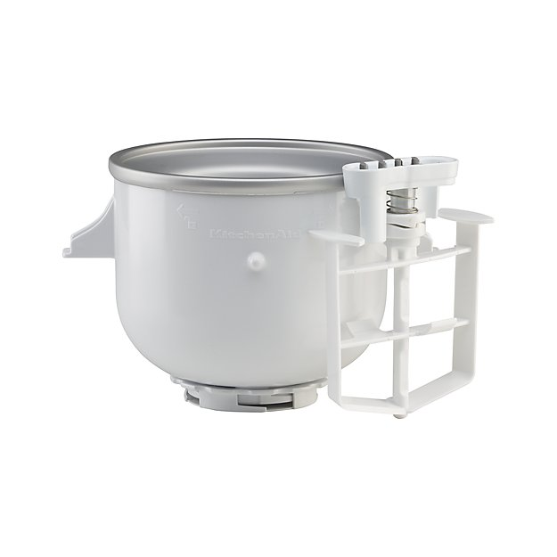 KitchenAid Stand Mixer Ice Cream Maker Attachment + Reviews | Crate on dirt devil attachments, dyson attachments, paint pole attachments,